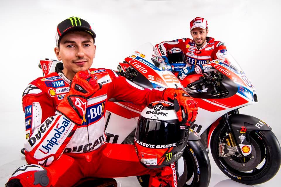 Jorge Lorenzo #99 & Andrea Dovizioso #04